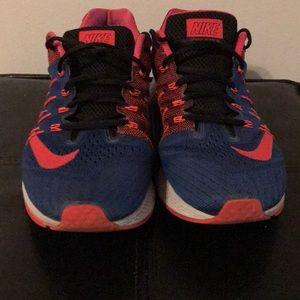 Nike Zoom Elite 8 Men's Red & Blue Running Shoes